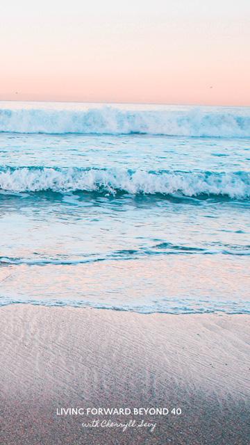 Waves smartphone wallpaper
